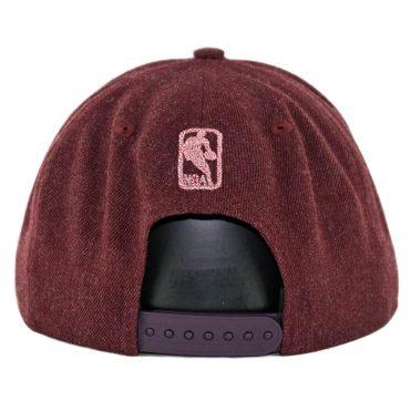 ... New Era 9Fifty Chicago Bulls Twisted Frame Snapback Hat Heather Cardinal ae51183d646e