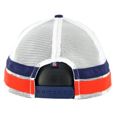 11fcc05d25c60 ... New Era 9Fifty San Diego Padres Striped Side Lineup Snapback Hat Light  Navy