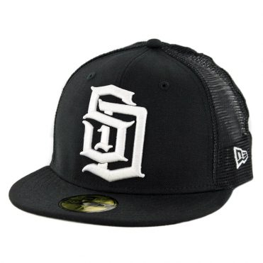 New Era 59Fifty CTO Dyse One SD Trucker Fitted Hat Black White