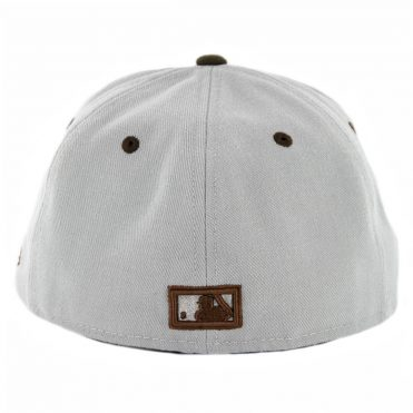 New Era 59Fifty CTO San Diego Padres Cooperstown Fitted Hat Gray Brown