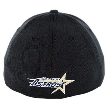 New Era 39Thirty Houston Astros Team Classic Cooperstown Stretch Fit Hat Dark Navy