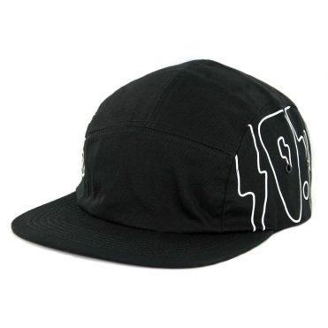 4f846ee99dc 10 Deep Lightning Navigator Clipback Hat Black ...