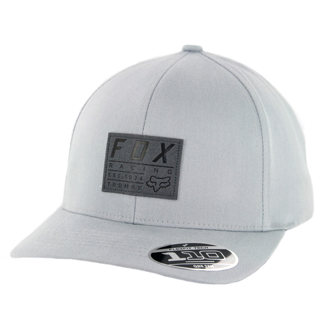 85ffe195 Fox Head Trademark 110 Snapback Hat Heather Grey