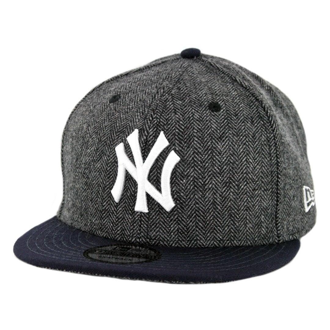 new product 3f924 49299 New Era 9Fifty New York Yankees Pattern Pop Snapback Hat Heather Graphite Dark  Navy