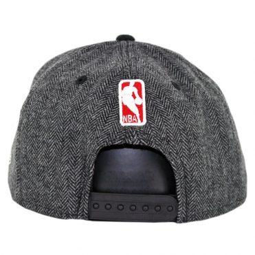 New Era 9Fifty Portland Trailblazers Pattern Pop Snapback Hat Heather Graphite Black