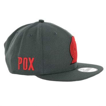 reputable site 355a9 50747 ... New Era 9Fifty Portland Trail Blazers Alternate City Series 2018 Snapback  Hat Graphite
