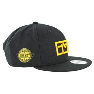 New Era 9Fifty Golden State Warriors Alternate City Series 2018 Snapback Hat Black