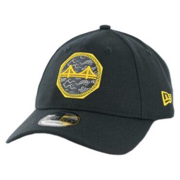 New Era 9Twenty Golden State Warriors City Series 2018 Strapback Hat Black