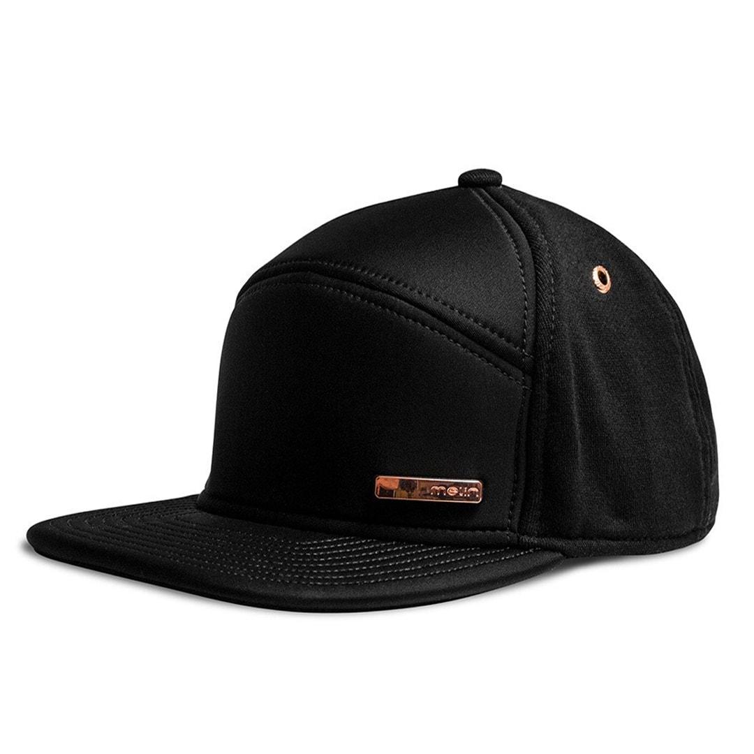 best sneakers 211bb c5208 Melin The Mini Bar Snapback Hat Black Rose Gold