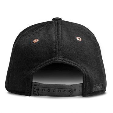 new product 18d62 afb3b ... Melin The Mini Bar Snapback Hat Black Rose Gold