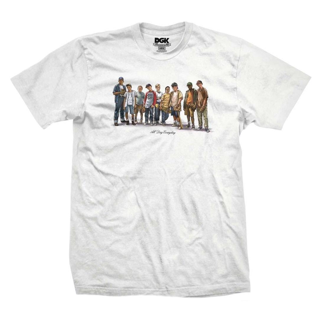 c84a41758 DGK Spring Training T-Shirt White - Billion Creation Streetwear