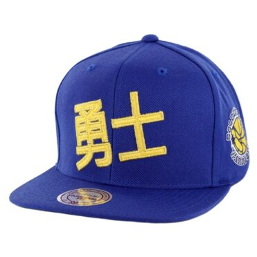 35bbaaf98c3 Mitchell   Ness Golden State Warriors Chinese New Year 2019 Snapback Hat  Royal ...