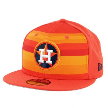 new styles 20e0a e7cce New Era 9Fifty Houston Astros Alternate Logo Pack Snapback Hat Orange ...