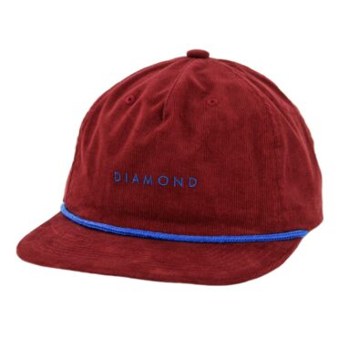 Diamond Supply Co Leeway HOL18 Snapback Hat Burgundy ... 4312b45d79a