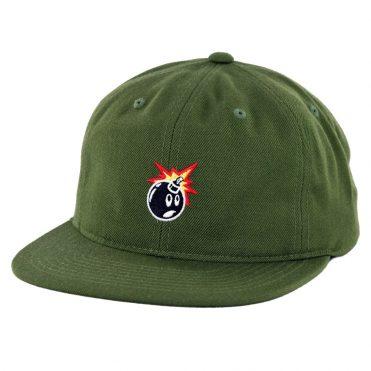 The Hundreds Senior Snapback Hat Olive