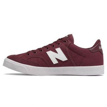 New Balance Numeric 212 Shoe Burgundy White