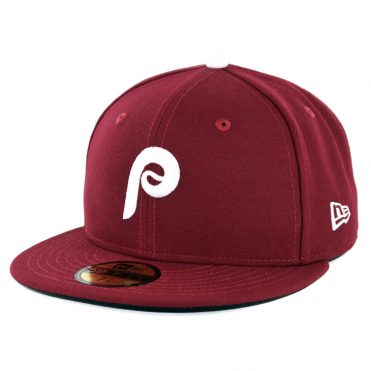 abee7c7d6e1 New Era 59Fifty Philadelphia Phillies Alternate 2 Authentic On Field Fitted  Hat Cardinal ...