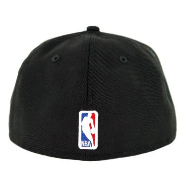 designer fashion 087c9 d69f7 ... New Era 59Fifty Los Angeles Lakers Fitted Hat Black