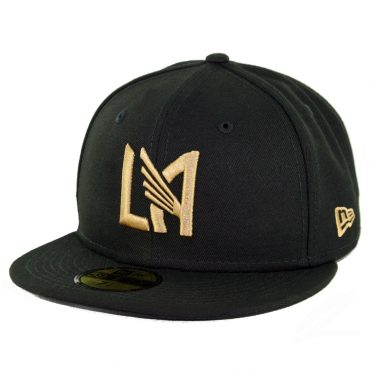 New Era 59Fifty MLS Los Angeles Football Club Basic Fitted Hat Black