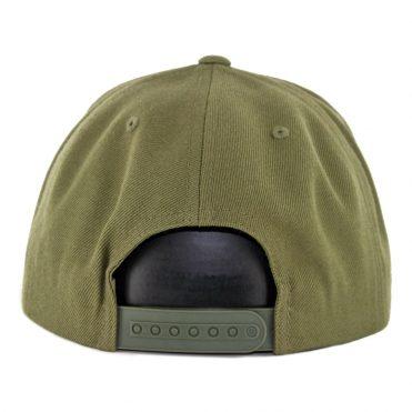 Brixton Palmer II MP Snapback Hat Olive