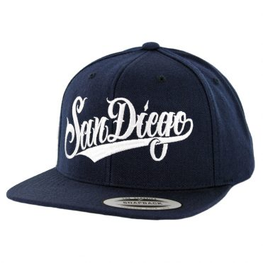 Dyse One SD Script SP19 Snapback Hat Navy