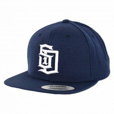Dyse One SD Snapback Hat Navy White