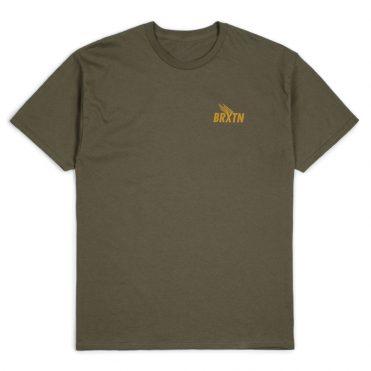 Brixton Rogers III T-Shirt Olive