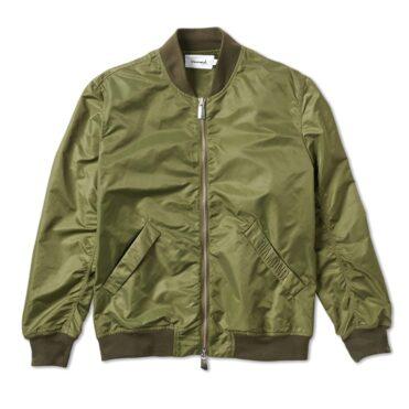 Diamond Supply Co Panelled Bomber Jacket Olive