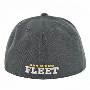 New Era 59Fifty San Diego Fleet Fitted Hat Graphite