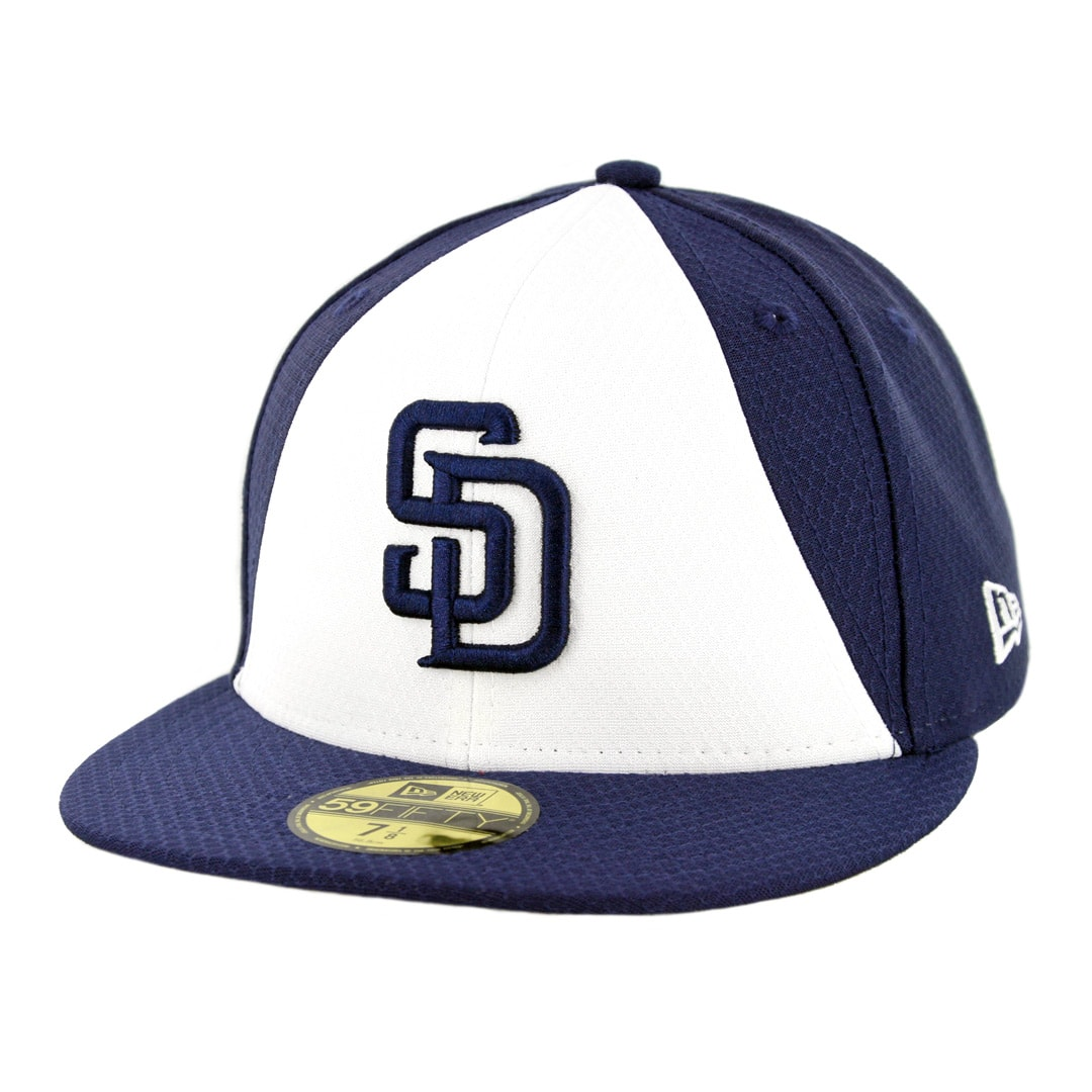 promo code b4263 edd44 New Era 59Fifty San Diego Padres Batting Practice 2019 Fitted Hat Official  Team Color