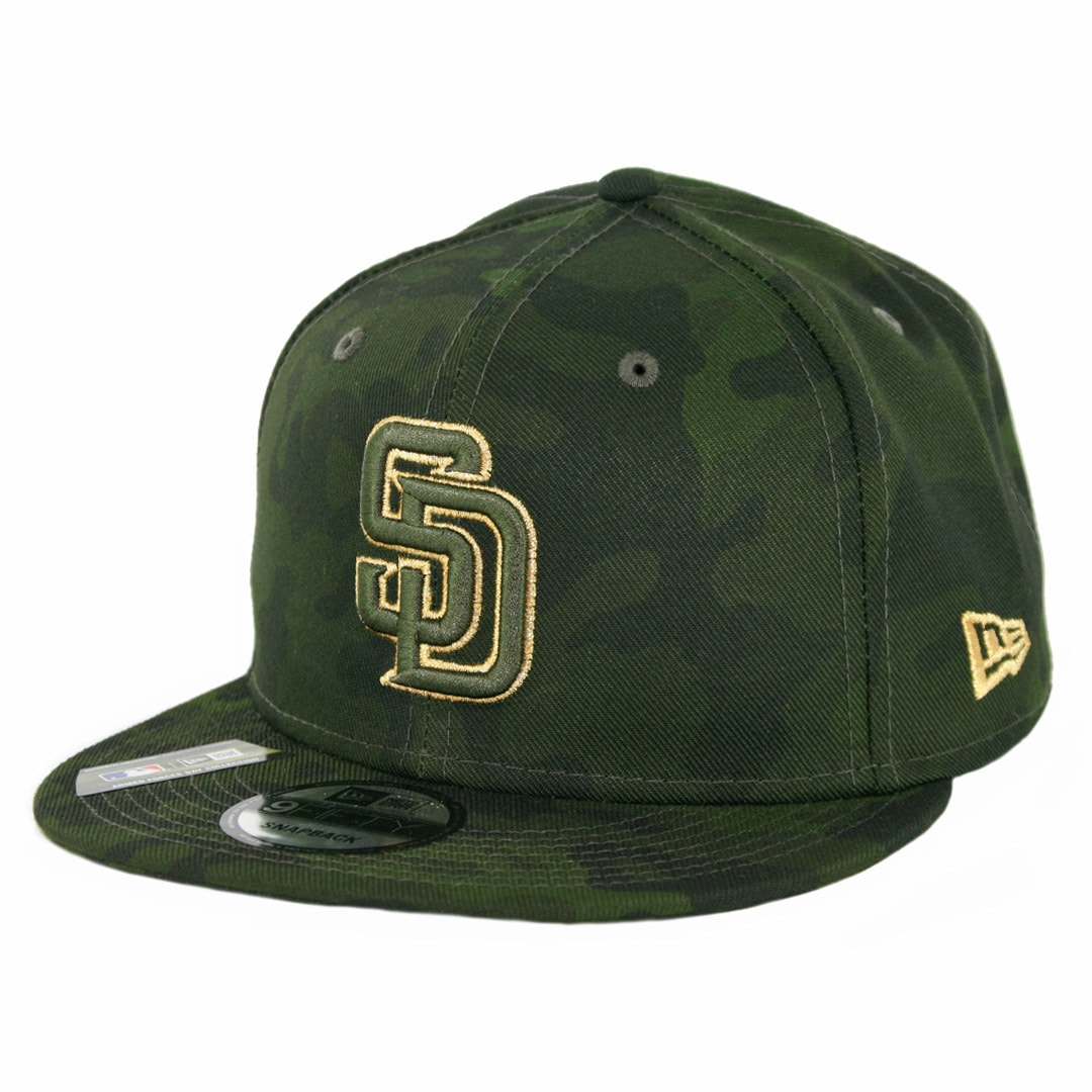 brand new 2fba5 55d1b New Era 9Fifty San Diego Padres Armed Forces Day 2019 Snapback Hat Camo