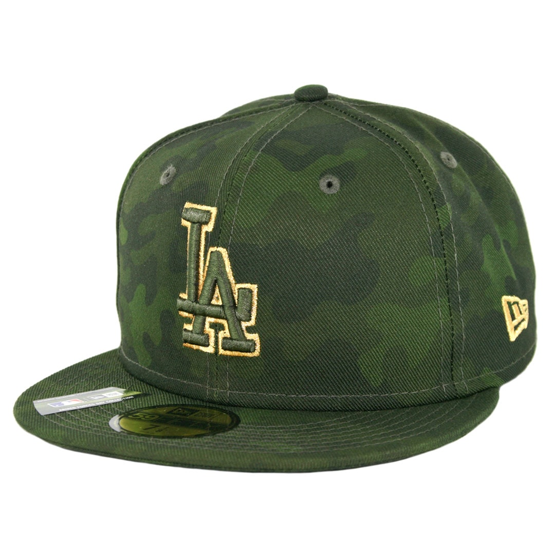 fe13e7cb02da9a New Era 59Fifty Los Angeles Dodgers Armed Forces Day 2019 Fitted Hat Camo