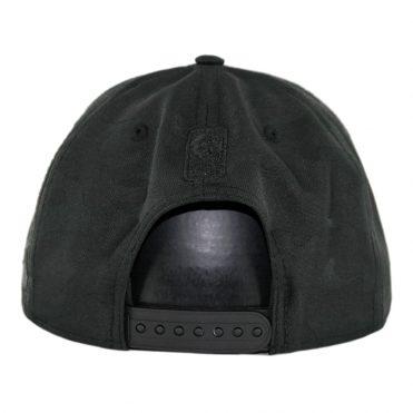 New Era 9Fifty Toronto Raptors Blackout Camo Play Snapback Hat Black
