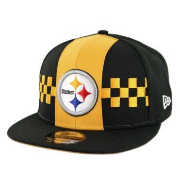 New Era 9Fifty Pittsburgh Steelers NFL 2019 Draft Snapback Hat Official Team Colors