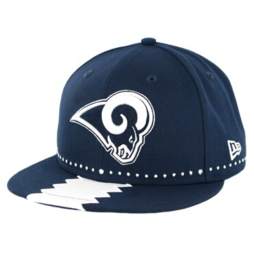 New Era 9Fifty Los Angeles Rams NFL 2019 Draft Snapback Hat Official Team Colors