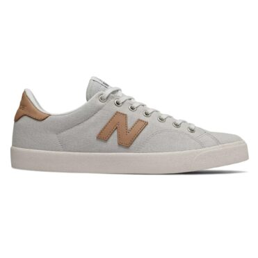 New Balance AM210 Shoe White Tan Leather