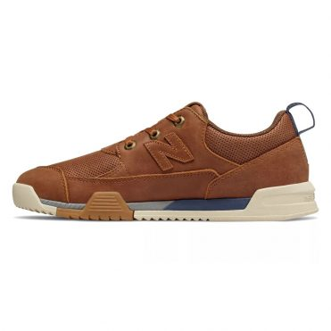 New Balance AM562 Shoe Brown Leather