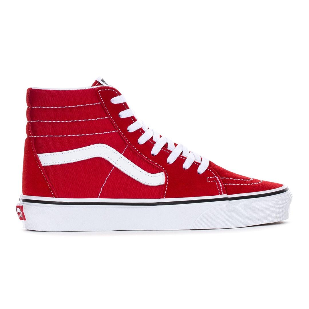 Venta > vans sk8 high red > en stock