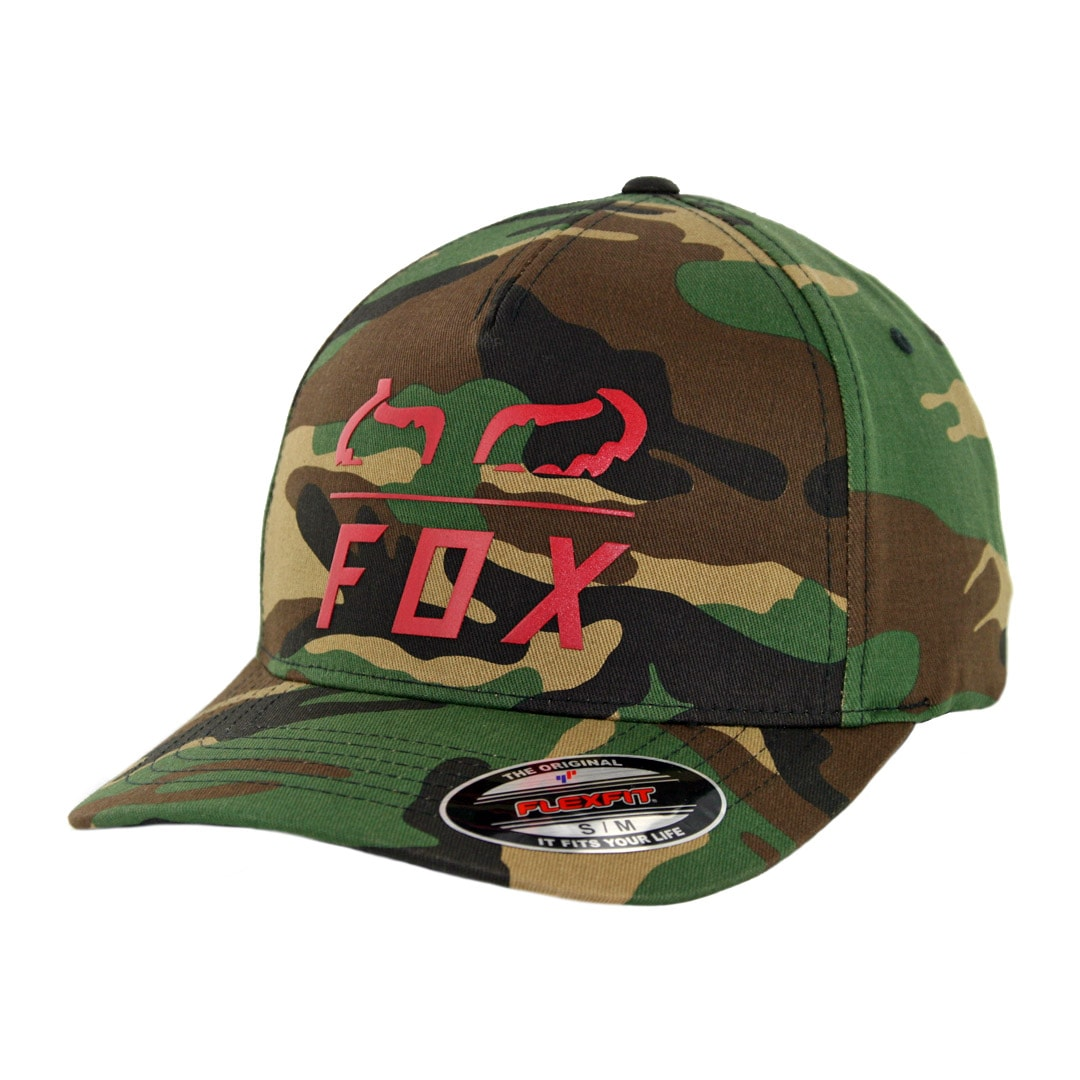 Fox Furnace Flexfit Hat Green Camo