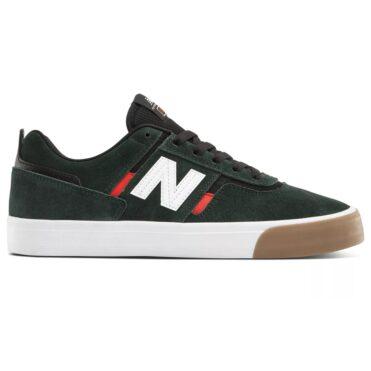 New Balance Numeric 306 Shoe Dark Green Red