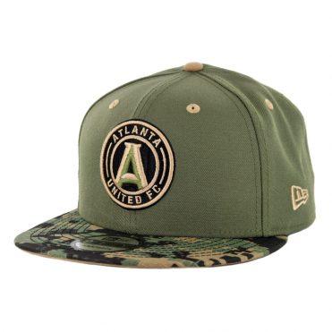 New Era 9Fifty Atlanta United Military Appreciation Snapback Hat Digi Camo