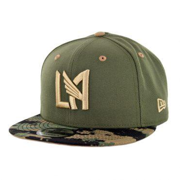 New Era 9Fifty Los Angeles Football Club Military Appreciation Snapback Hat Digi Camo