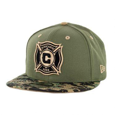 New Era 9Fifty Chicago Fire Military Appreciation Snapback Hat Digi Camo