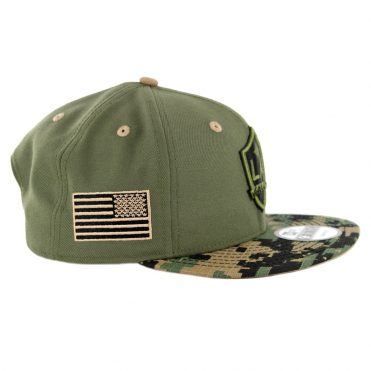 New Era 9Fifty Los Angeles Galaxy Military Appreciation Snapback Hat Digi Camo