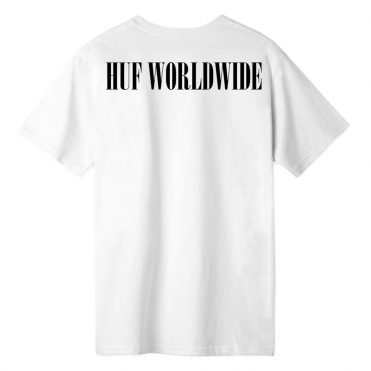 "Black HUF Worldwide /""Verdant/"" Short Sleeve Tee Men/'s Graphic T-Shirt"