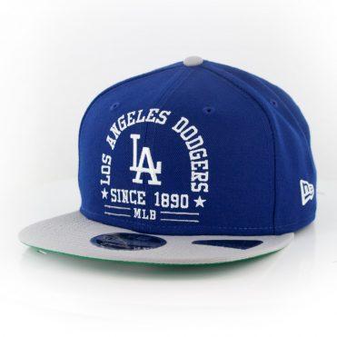 New Era 9Fifty Los Angeles Dodgers Arch Snapback Royal Blue