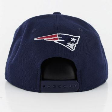 New Era 9Fifty New England Patriots Elemental Snapback Hat Dark Navy