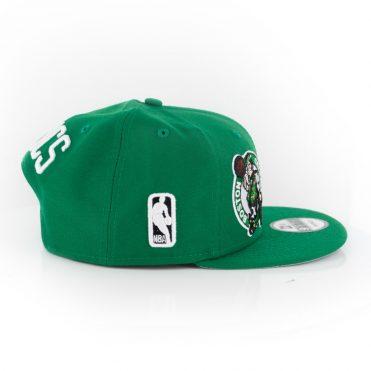 New Era 9Fifty Boston Celtics Logo Wrap Snapback Kelly Green