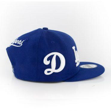 New Era 9Fifty Los Angeles Dodgers Logo Wrap Snapback Dark Royal