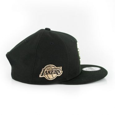 New Era 9Fifty Los Angeles Lakers MNT State Snapback Hat Black